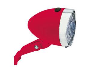 Riflettore a batterie Trendy Rosso | Cicli Martin