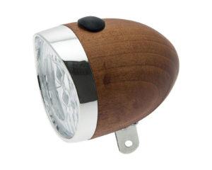 Riflettore in legno noce a batterie | Cicli Martin