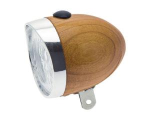 Riflettore in legno rovere a batterie | Cicli Martin