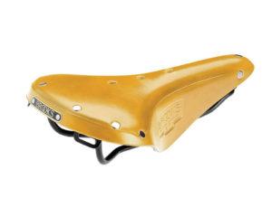 Sella Brooks B17 uomo giallo ocra | Cicli Martin