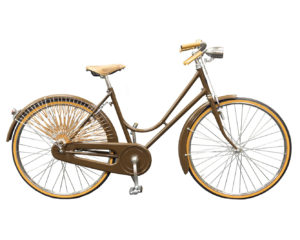 elegante bici donna